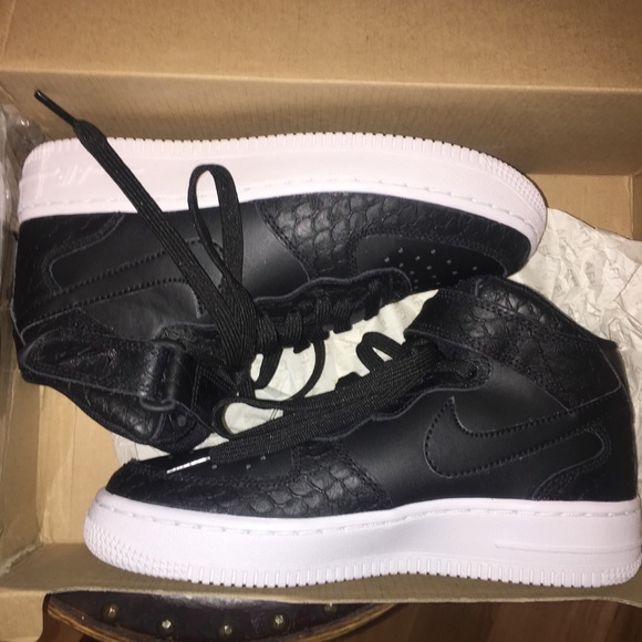 finest selection 07b63 0c5e0 Nike Air Force 1 Black Snakeskin Mid LV8. Listing Price   67.00. Your Offer